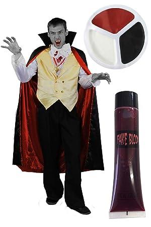ILOVEFANCYDRESS Disfraz DE Vampiro para Adultos con ...