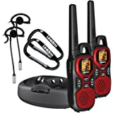 Uniden GMR 30 Mile 22 Channel FRS/GMRS Two-Way Radios with Charging Kit - Red (3040-2CKHS)