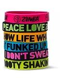 Zumba A0A00524 Express Yourself Bracelets (6PK)