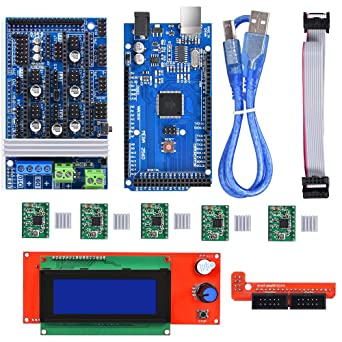 BIQU Mega2560 Control Board + LCD 2004Graphic Smart Display ...