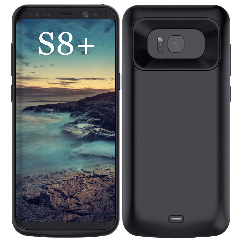 Funda Con Bateria De 5500mah Para Samsung Galaxy S8 Plus Accerzone [738m8y79]