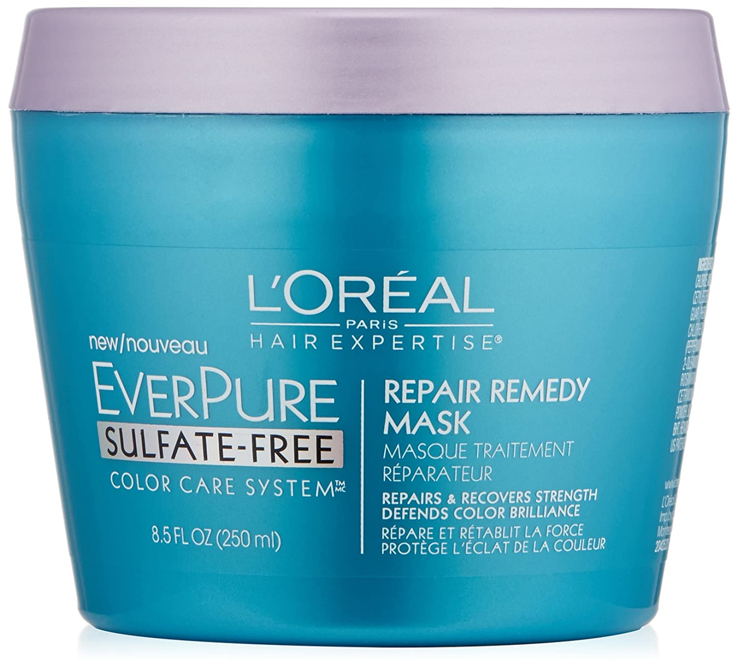 L'Oreal Paris Hair Care Expertise Everpure Repair and Defend Rinse Out Mask, 8.5 Fluid Ounce L'Oreal - Hair Care K2051500