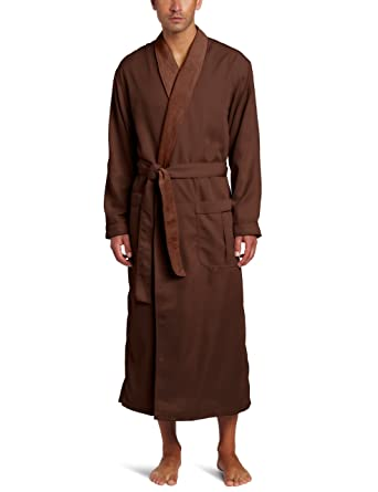 Majestic International Men s Lined Sanded Micro Robe edd482668