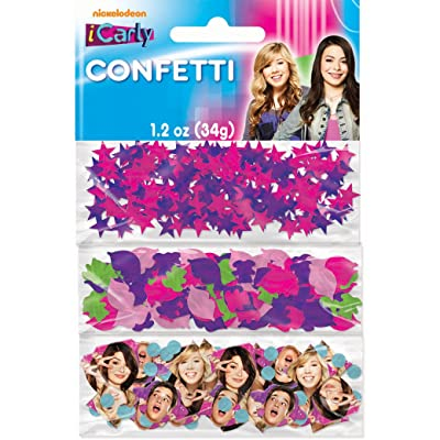 iCarly Printed Confetti: Toys & Games