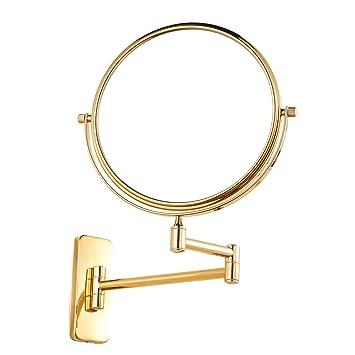 Amazon.com: Gurun Soporte de pared espejo de maquillaje con ...