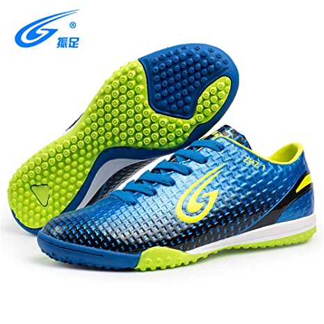 e98ff57fbeb1 Amazon.com: FCSHOES Kids Indoor Soccer Shoes Cleats Boots Centipedes  Professional Turf Football Shoes Sneakers Futsal Boot Adult: Sports &  Outdoors