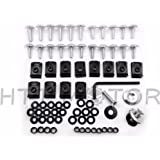HTTMT Motorcycle Normal Fairing Bolts Kit For 1998-2002 Kawasaki Ninja Zx6 Zx6R Zx9R