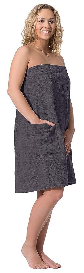 ZOLLNER Toalla Sauna para Mujer, marrón, algodón, L/XL, Otras Tallas y Colores: Amazon.es: Hogar