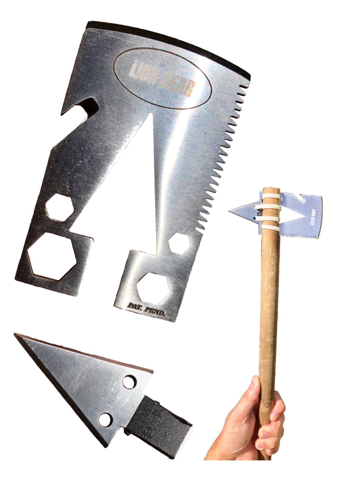 Survival Axe Tomahawk Emergency Camping Hunting Multi-Tool
