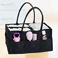 Diaper Caddy Organiser Portable Large Diaper Caddy Tote with Changeable Compartments, Foldable Portable Car Travel…
