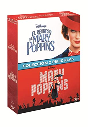 Pack Mary Poppins + Regreso Mary Poppins [DVD]: Amazon.es: Emily ...