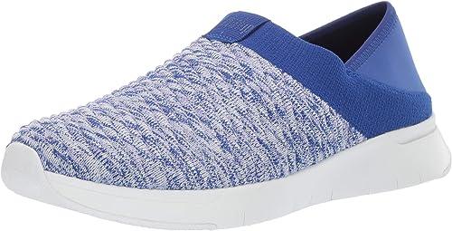 FITFLOP Women's Artknit Sneaker, Black