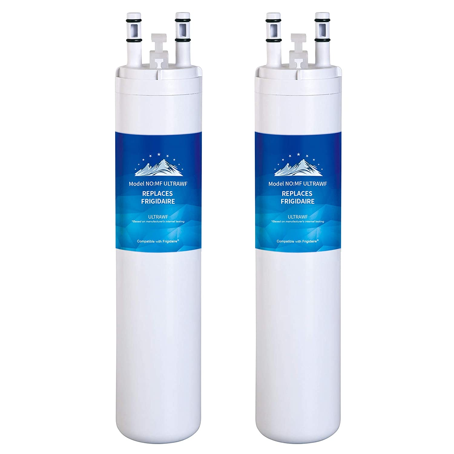 Mountain Flows U|LTRAWF Compatible Refrigerator Water Filter - 9999 water filter - 2 Pack