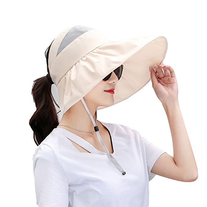 Collocation-Online hats Female Summer Korean Version of The Tide Sunscreen  Anti-UV Hat d869eef15916