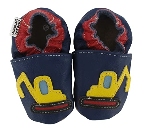 sale retailer 34bbc a1f3e HOBEA-Germany Unisex Baby Digger Krabbelschuhe, dunkelblau ...