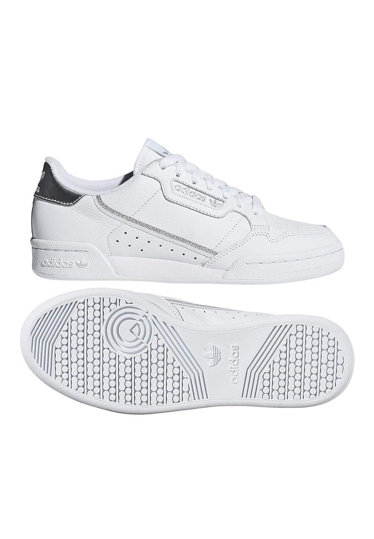 Adidas Originals Turnschuhe Continental 80 W EE8925 Weiß Silber