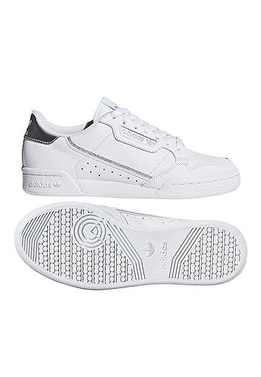 online store 670bf 005ba adidas Originals Sneaker Continental 80 W EE8925 Weiß Silber ...