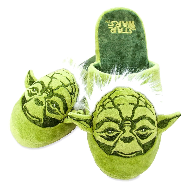 Officiel Star Wars Maître Yoda Pantoufles Mule Adulte Glisser b6gRS
