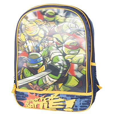Teenage Mutant Ninja Turtles 3-D Backpack Ready for Battle: Baby