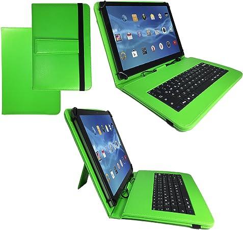 QWERTZ Teclado Tablet Funda para Acer Iconia W4 – 820 20,5 cm ...