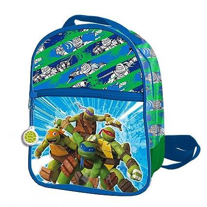 Tortugas Ninja 2018 AS9834 Mochila Infantil, 24 cm ...