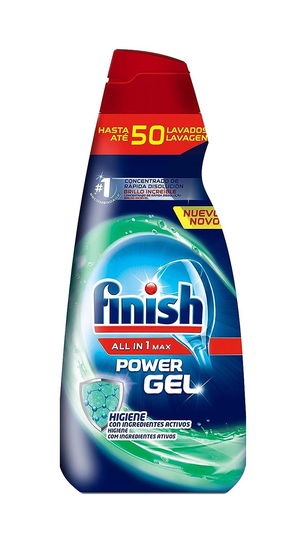 Finish Gel Hygene - Lavavajillas, todo en 1, 50 dosis ...