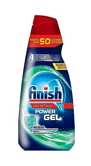 Finish Gel Hygene - Lavavajillas, todo en 1, 50 dosis: Amazon.es ...