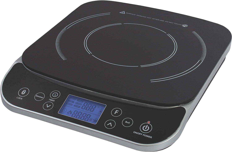 Max Burton #6450 Digital LCD 1800 Watt Induction Cooktop Counter Top Burner