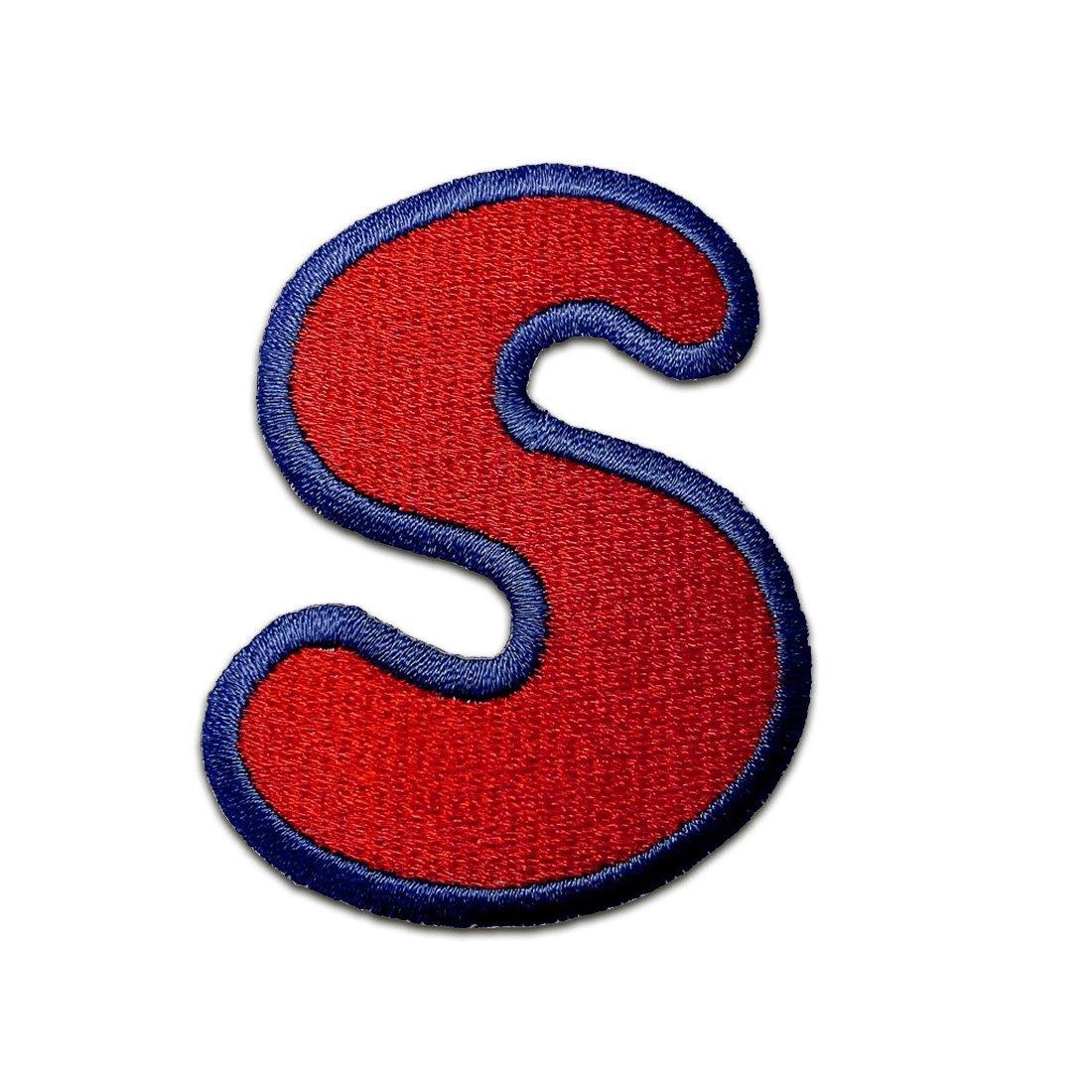 toppa termoadesiva Alfabeto/Lettera rosa Patch - diverse varianti disponibili, Alphabet/Buchstabe:Buchstabe J - 6.2x4cm Catch-the-Patch.de