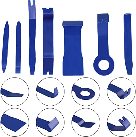 7 Pcs Panel Removal Open Pry Tools Kit for Radio Panel Trim Molding Door