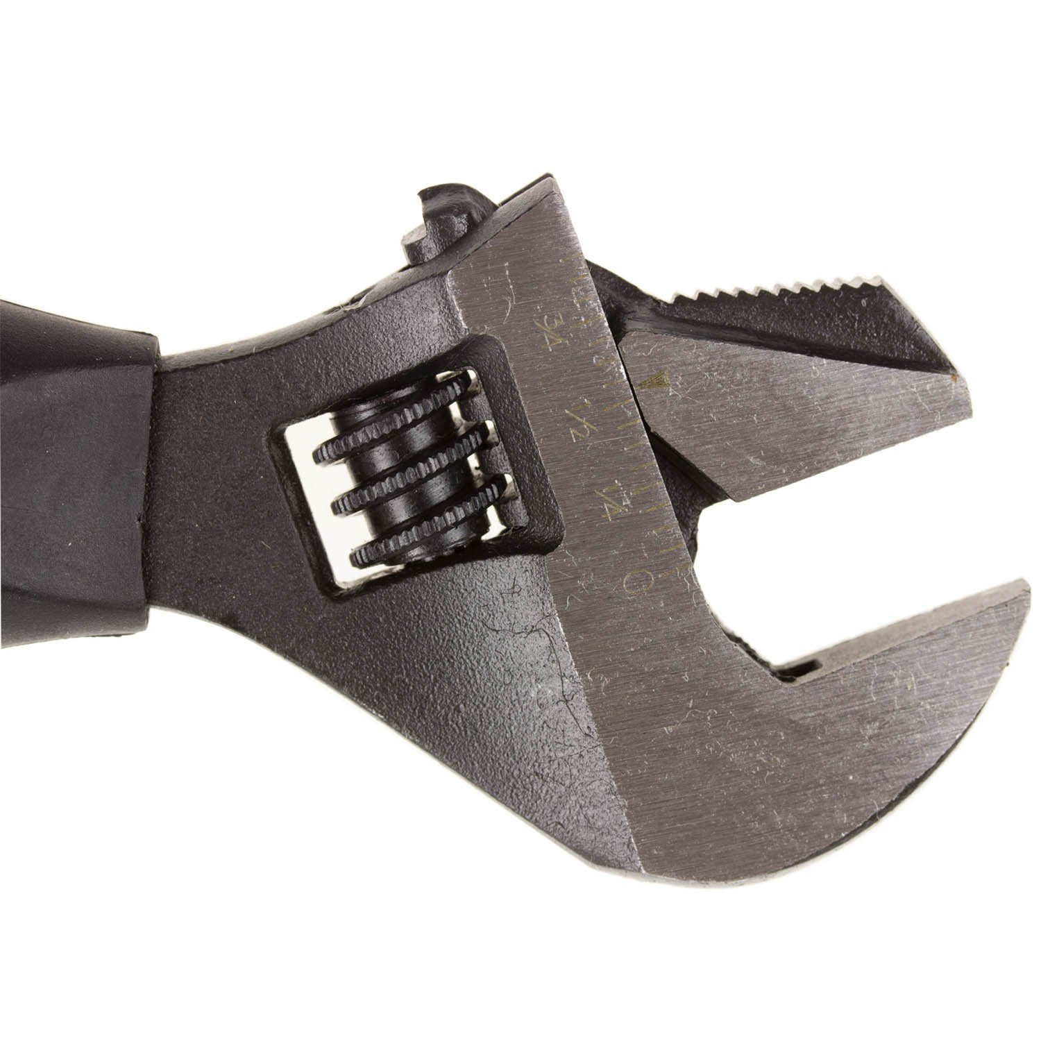 DEKTON DT20310 2-in-1 Stubby Adjustable Wrench Silver