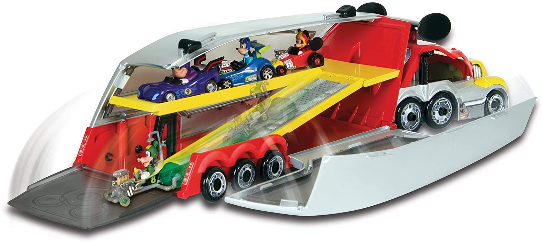 IMC Toys Mouse camión Mickey Color Rojo Disney 1: Amazon.es: Juguetes y juegos