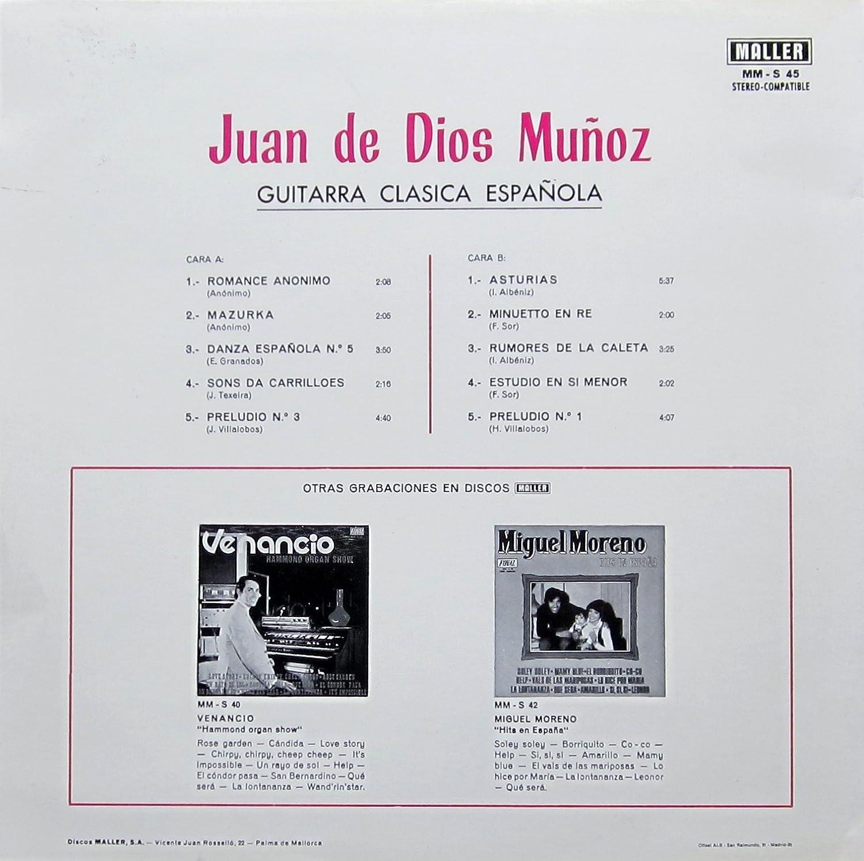 Guitarra Clasica Espanola : Juan de Dios Munoz: Amazon.es: Música