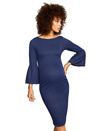 34b468b76f21f A Pea in the Pod Soon Maternity Sleeve Detail Maternity Dress at Amazon  Women's Clothing store: