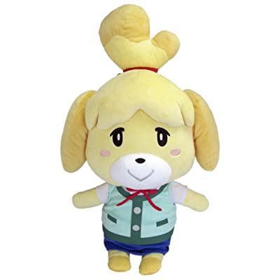 "Little Buddy USA Animal Crossing New Leaf Giant X-Large Isabelle 18"" Plush: Toys & Games"