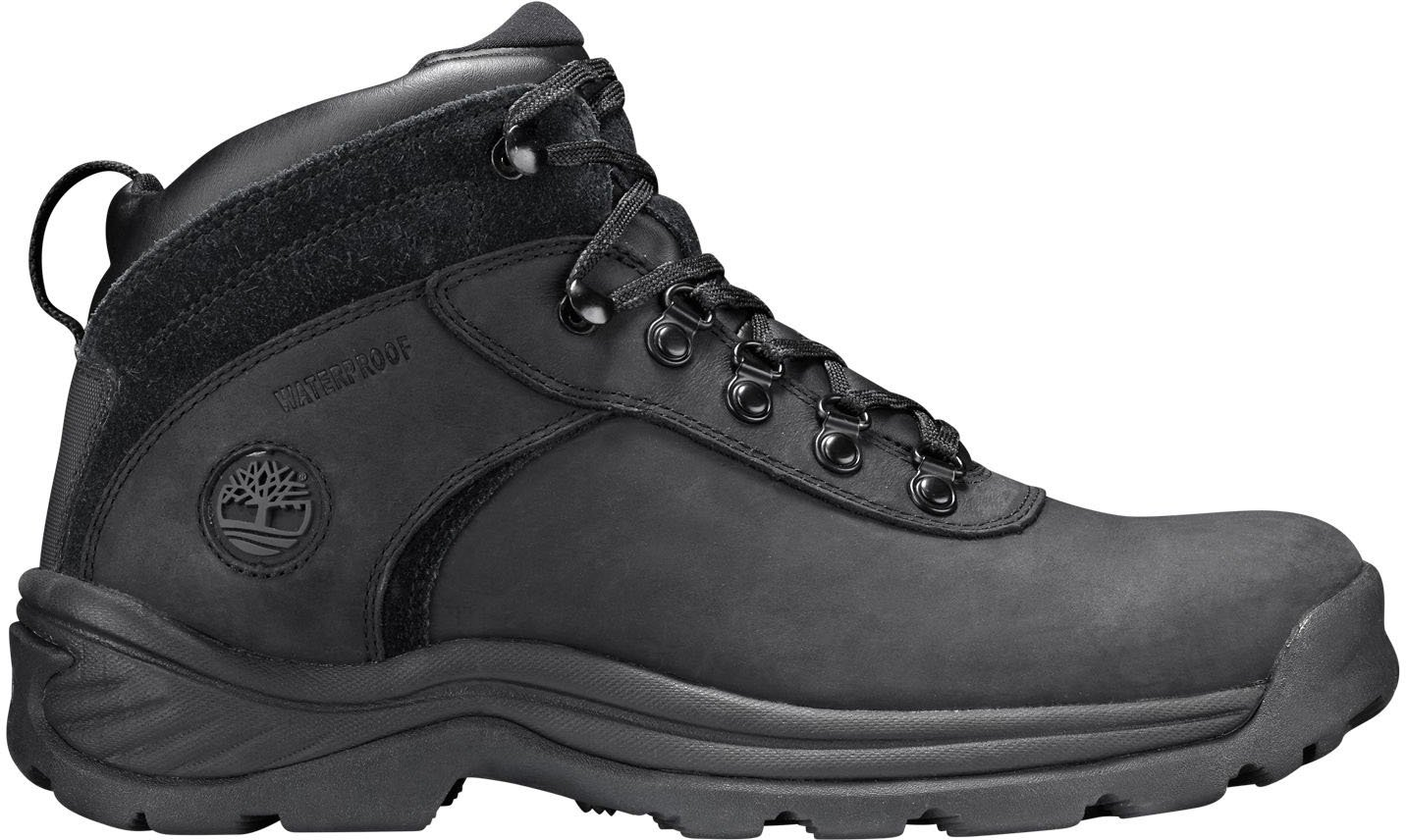 Timberland Men's Flume Waterproof Boot,Black,10.5 W US