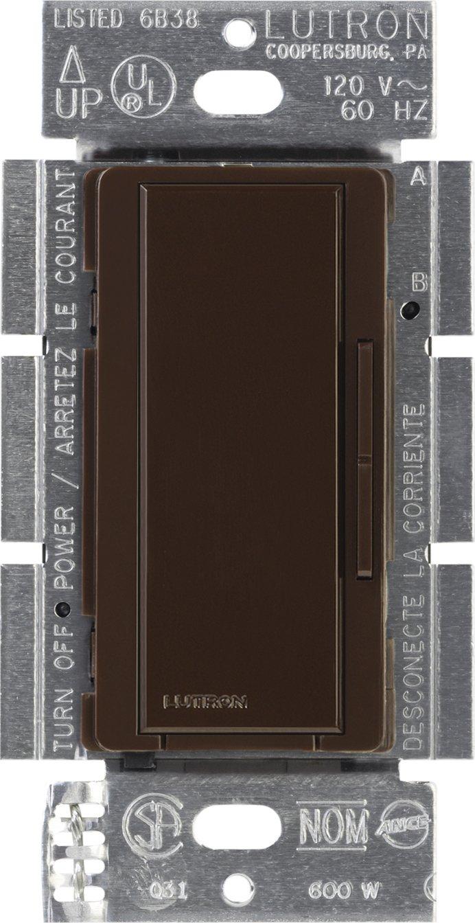 Lutron Maestro Companion Dimmer, Multi-location, MA-R-BR, Brown
