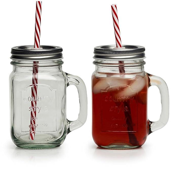 Amazon.com: Circleware - Juego de 4 vasos para cerveza de ...