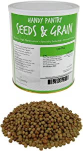 Dun Pea Sprouting Seeds - 5 Lbs - Dried Dun Peas - Edible Seeds, Gardening, Hydroponics, Growing Salad Sprouts & Microgreens, Planting, Food Storage, Soup & More