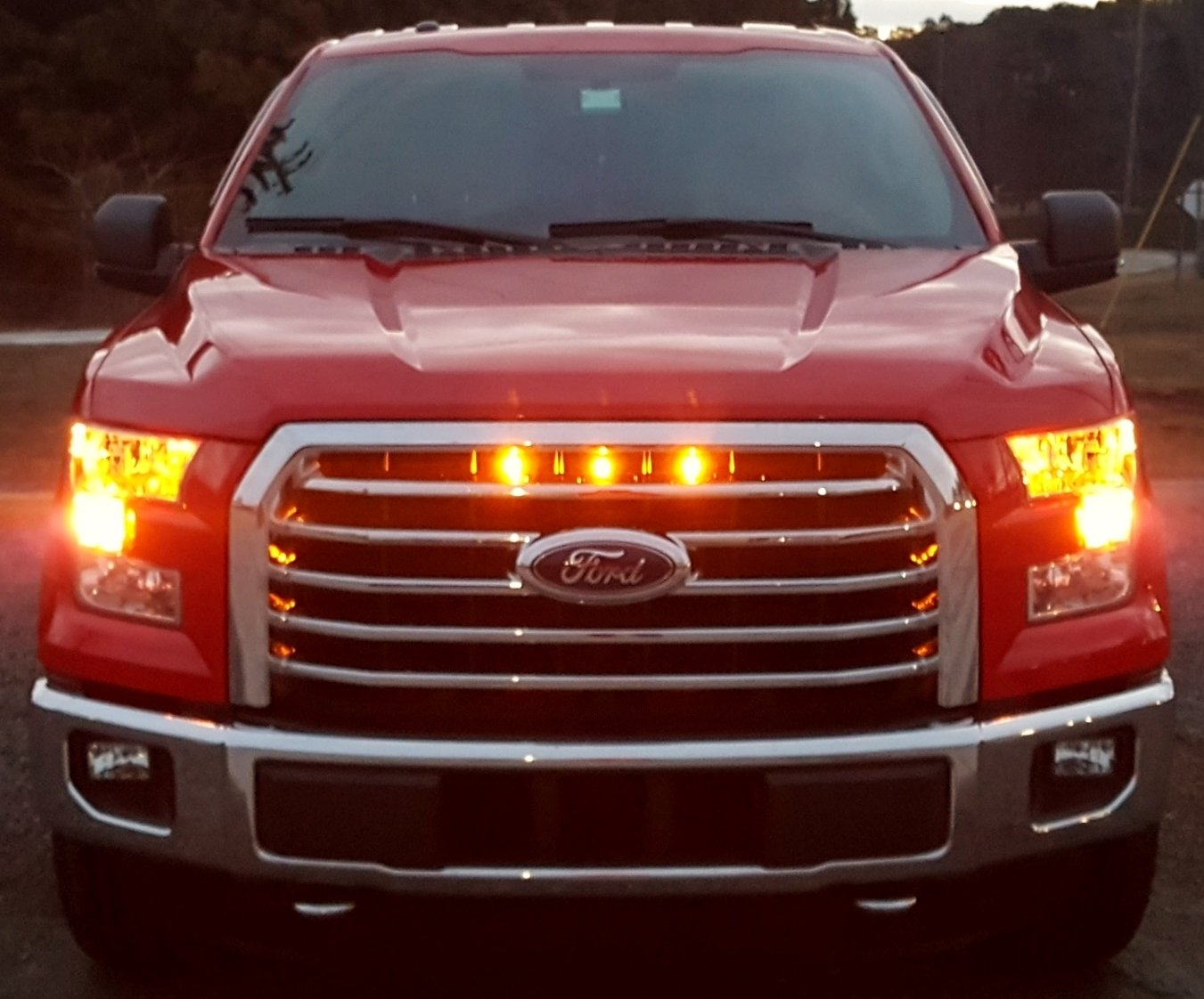 Ford F Grill Lights | 2018/2019 Ford Reviews