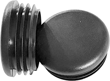Pack of 8 14-20 Ga --1.34 to 1.43 ID End Caps for Fitness Eqpt. Table Glide Insert Steel Furniture Pipe Tube Plastic Tubing Plug 1.5 Inch End Cap 1-1//2 Round Chair Leg
