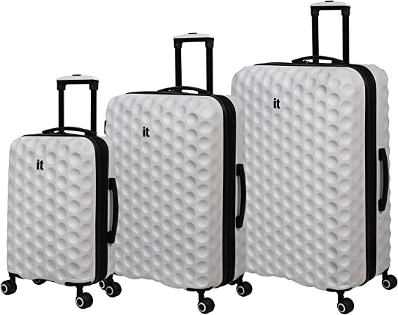 it luggage Bubble-Spin 4 Wheel HardSide, Cloud Dancer, 3 Piece Set