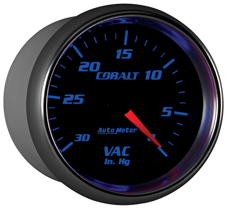 Auto Meter 7984 Cobalt Mechanical Vacuum Gauge