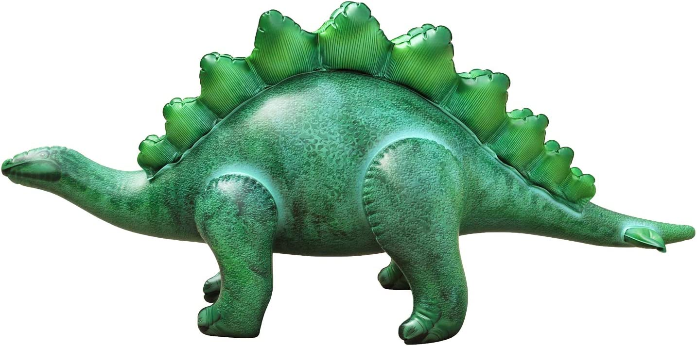 Party Decoration Birthday for Kids and Adults Jet Creations DI-STE8 Inflatable Stegosaurus Dinosaur 46 inch Long Great for Pool