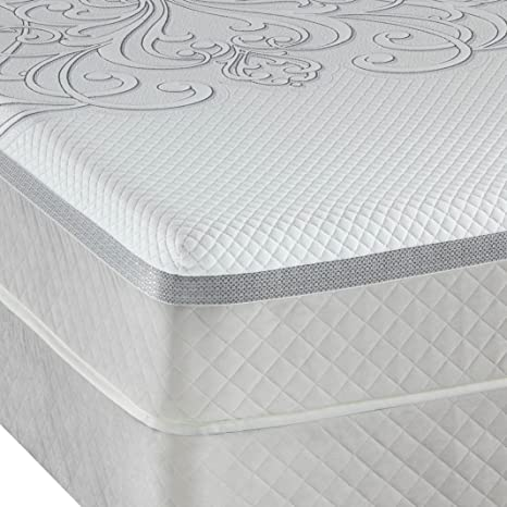 Amazon Com Queen Sealy Posturepedic Hybrid Series Trust Cushion