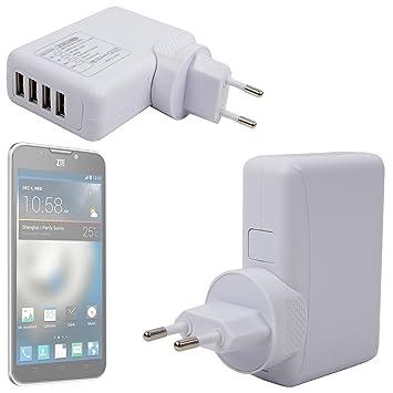 DURAGADGET-Cargador con varios puertos USB para carga rápida ...
