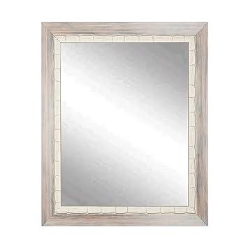 Amazon.com: BrandtWorks BM023L2 Weathered Beach Wall Vanity Mirror ...