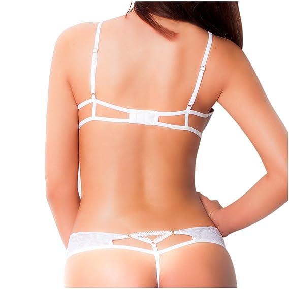 Amawi 0606 Sexy Lace Latuta Bra for Women Ropa Interior Femenina Colombiana at Amazon Womens Clothing store: