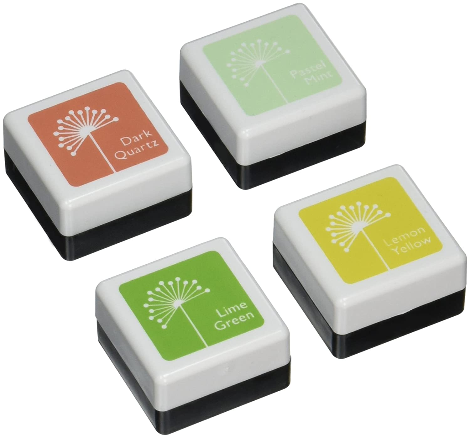 Hero Arts Ink inchiostro, 4 colori Cubes-Early molla AF264