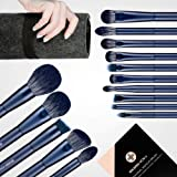 Makeup Brush Set, EIGSHOW Professional Makeup Brushes Kit Foundation Powder Concealers Eye Shadows Makeup 15 Piece for Eye Fa